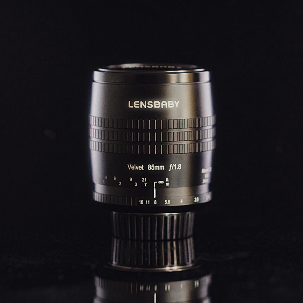The new Lensbaby Velvet 85