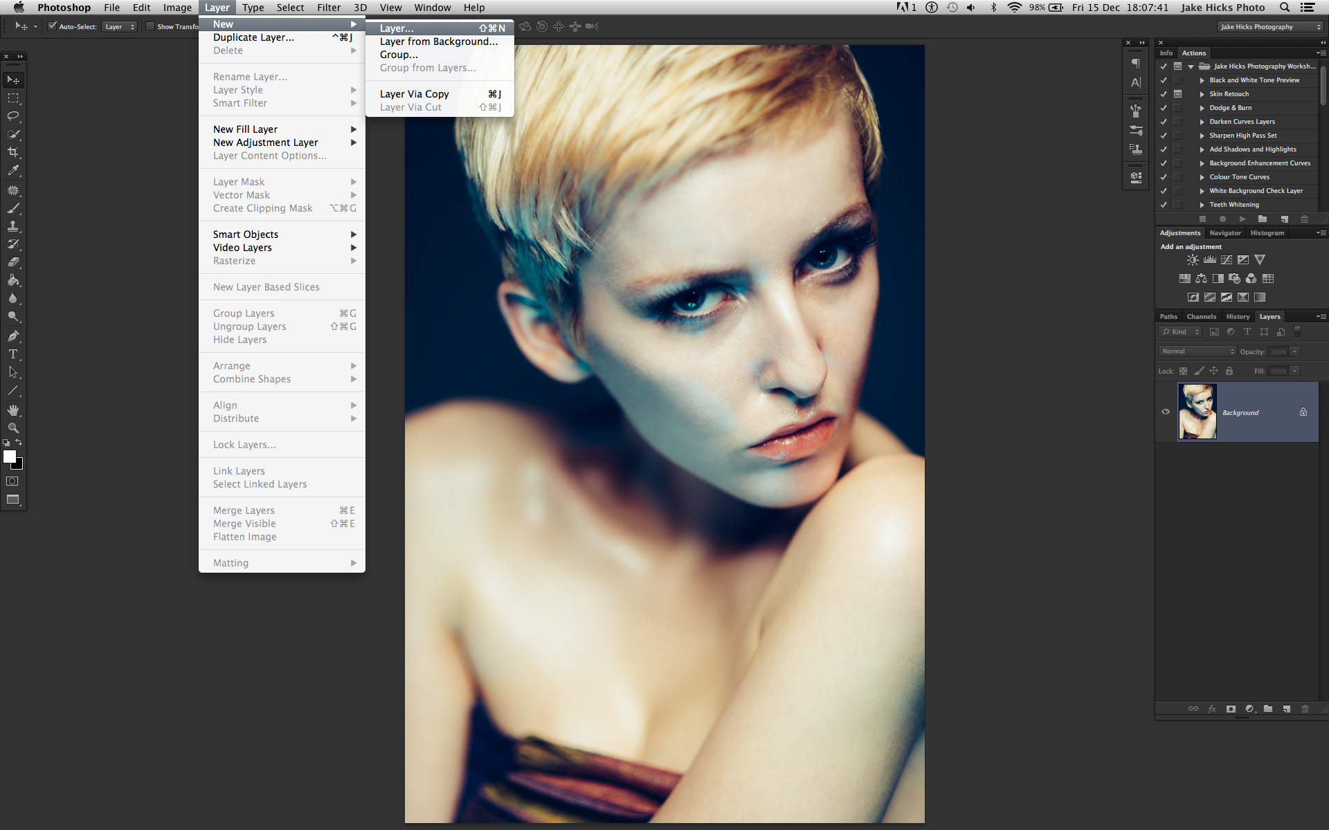 Skin Retouching with Dodge & Burn - How to Maintain Skin Detail