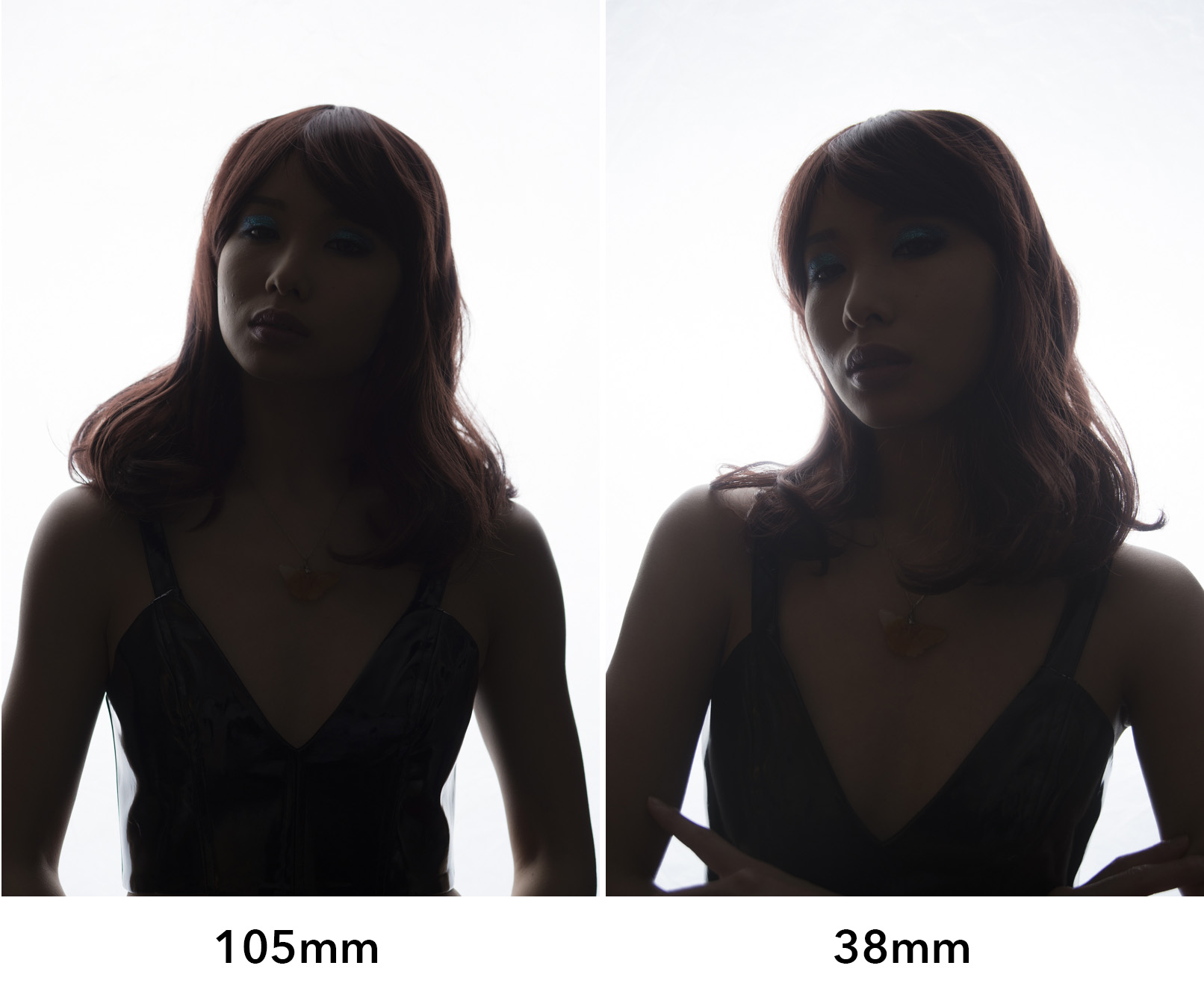 I have clearly used two extreme focal lengths here to illustrate my point but it should be clear to see just how much flare is present in the wider 38mm shot compared to the 105mm.