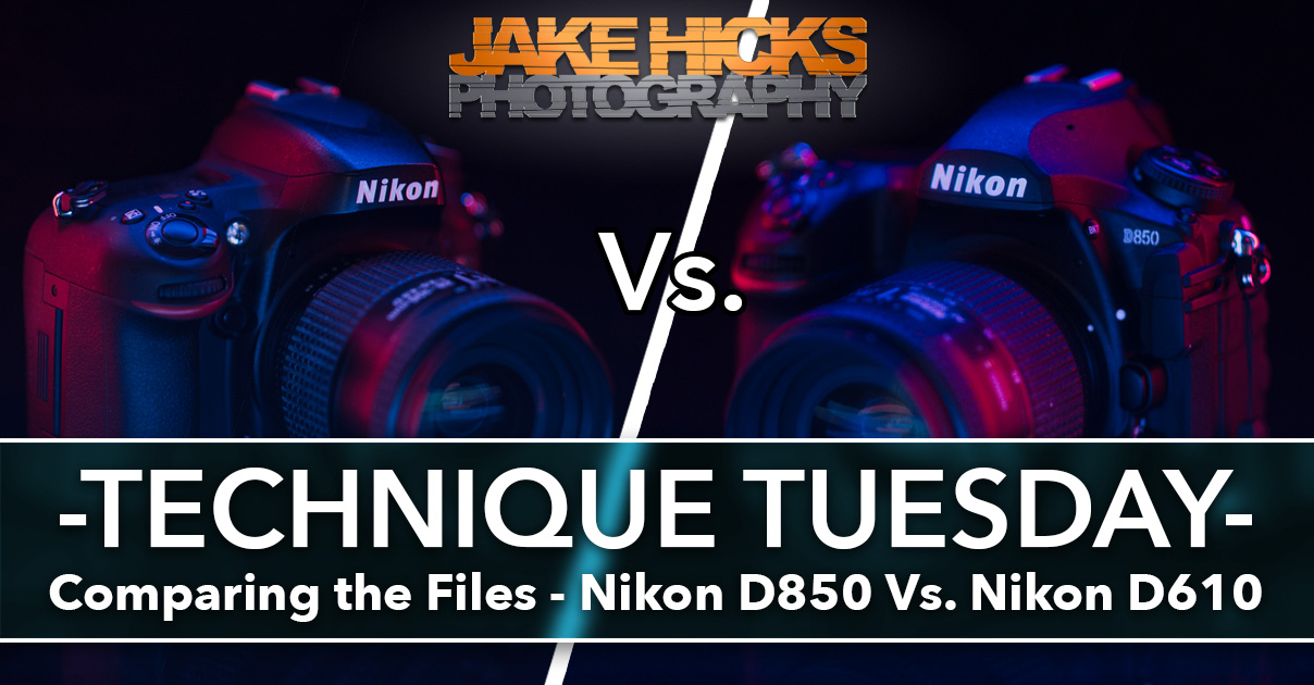 Clicking on the image above will take you to my article on comparing the image quality of the Nikon D610 vs D850.