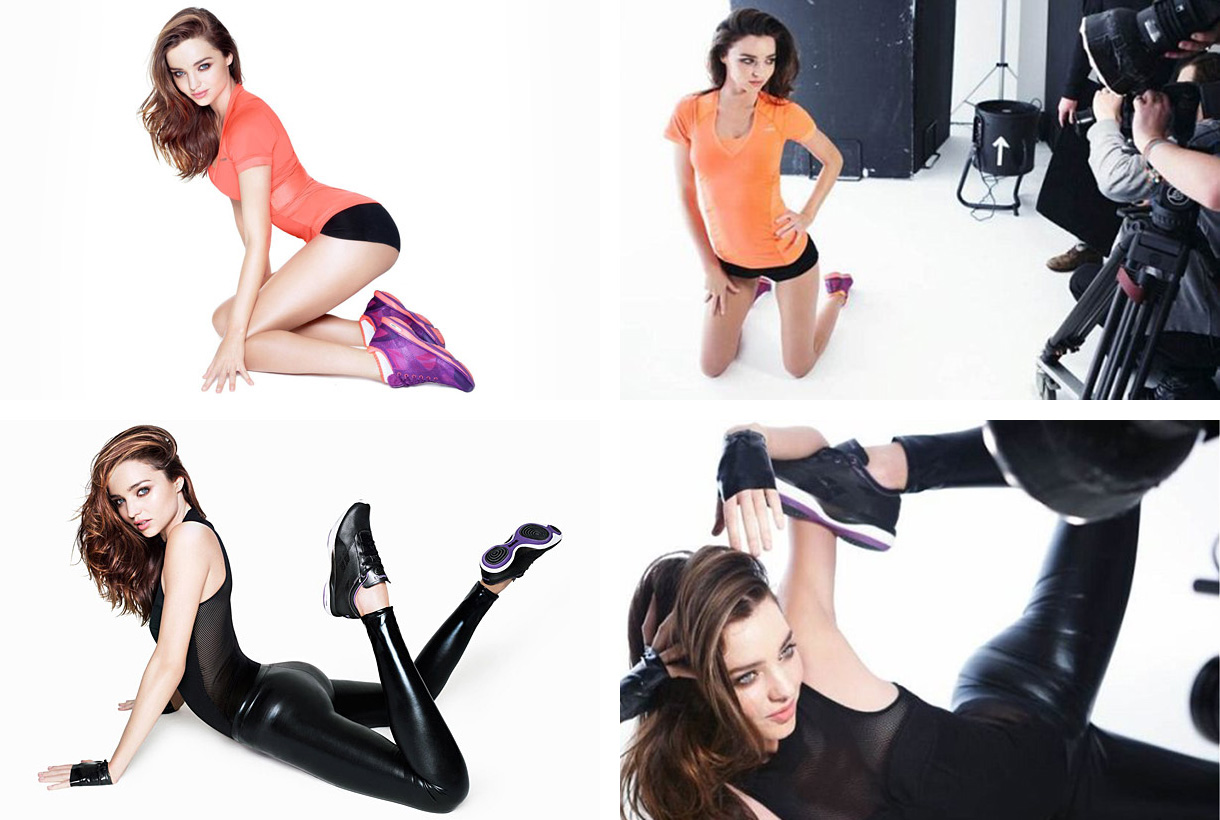 Miranda Kerr by Rankin for Reebok.