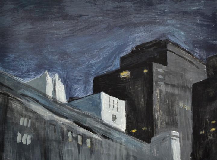 Night on 1st Avenue