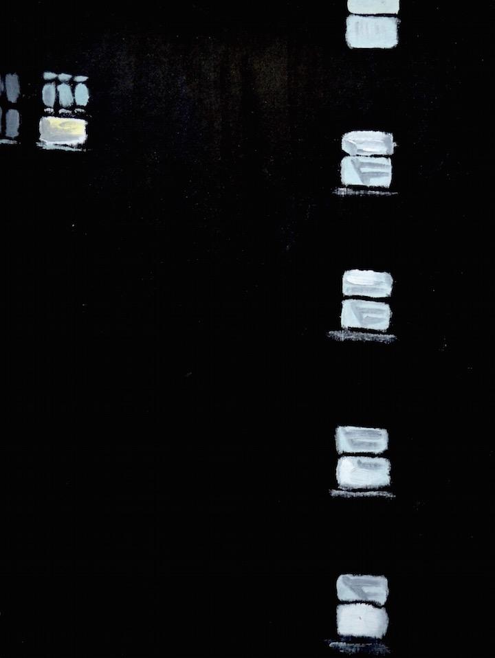 Untitled (Stairwell Windows)