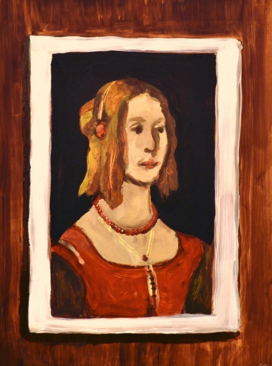 Portrait of a Girl (after Domenico Ghirlandaio)