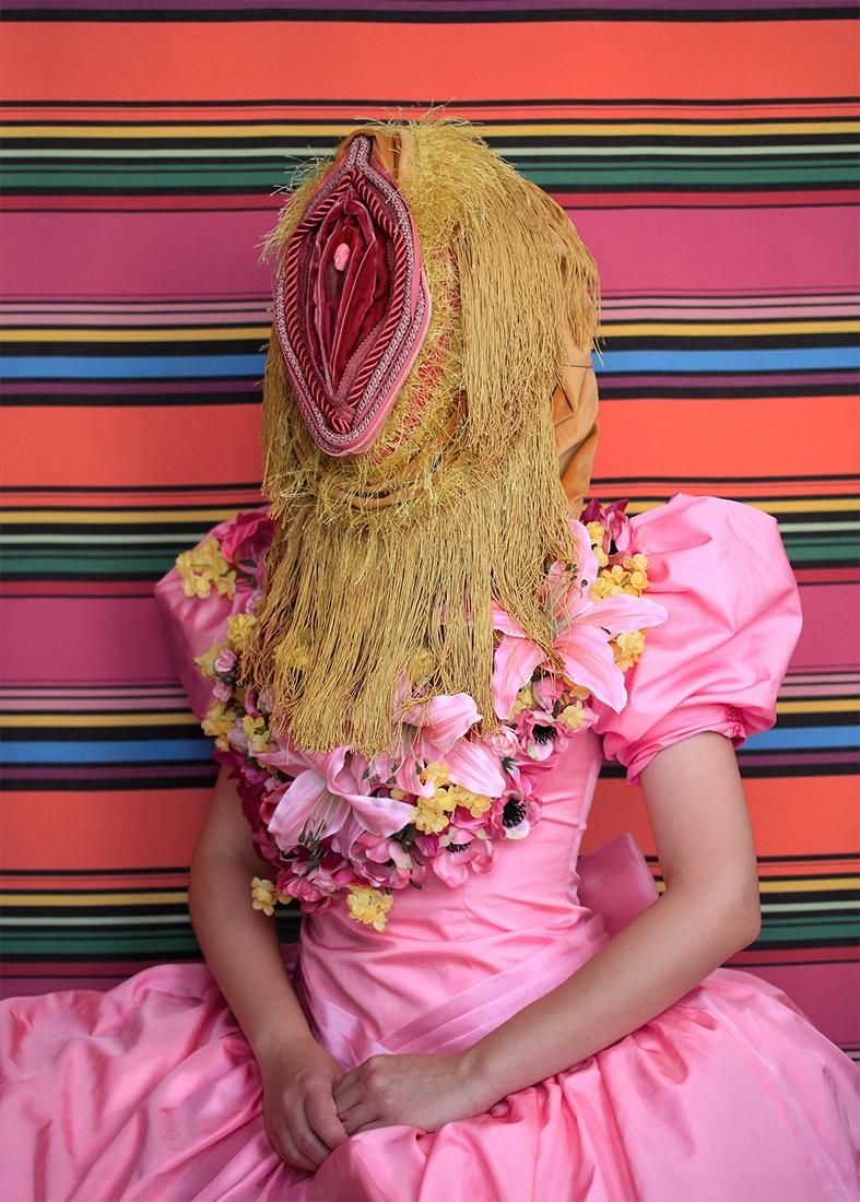 Arrangement in Pink: Portrait of a Person