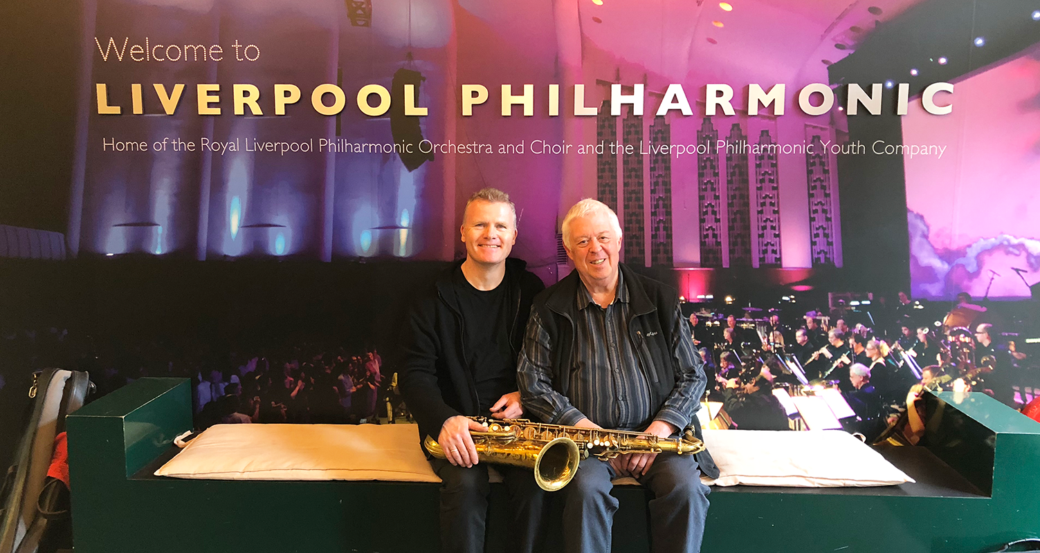 Iain performed  Gary Carpenter's concerto 'Set'  for Saxophone and Orchestra with RLPO.  Listen again on iPlayer to    Live Radio 3 broadcast