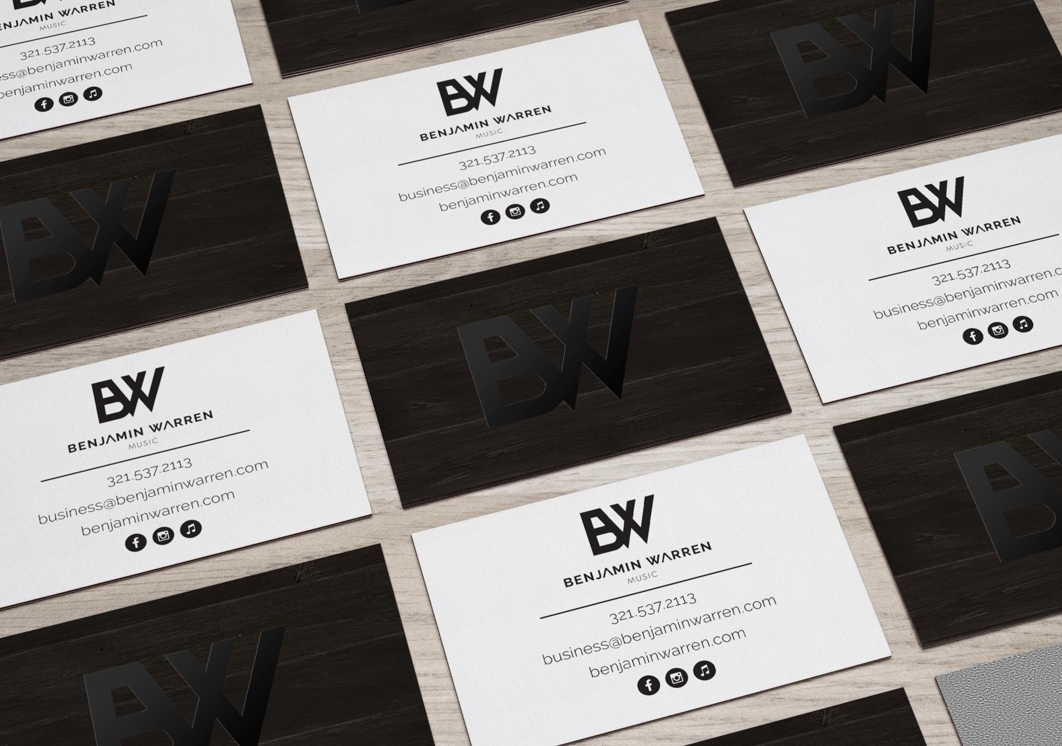 Benjamin Warren's Business Cards