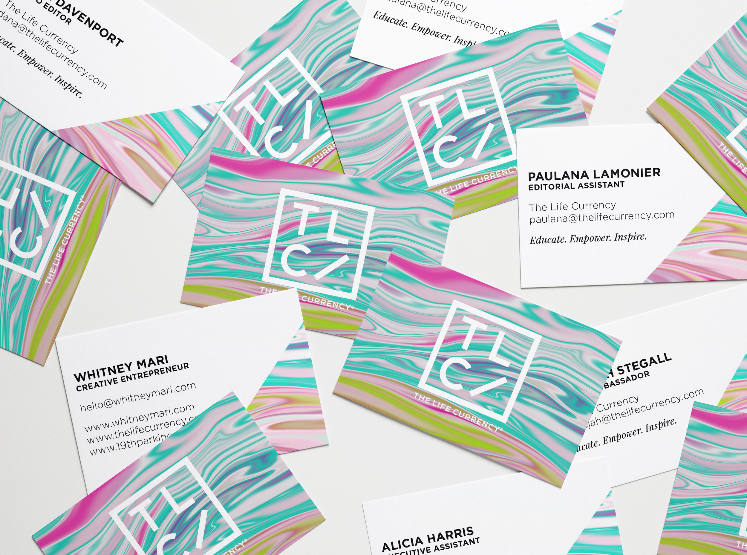 The Life Currency Business Cards