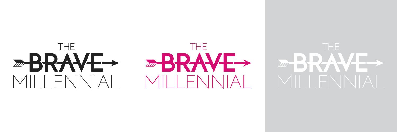 The Brave Millennial Logo