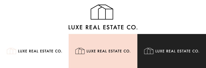 Luxe Real Estate Co. Logo