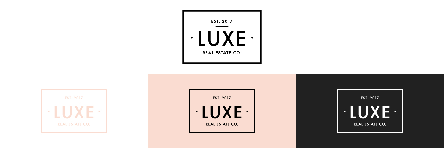 Luxe Real Estate Co. Badge