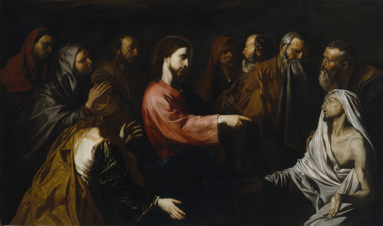 The Resurrection of Lazarus  (ca. 1615)  Jusepe de Ribera Museo del Prado, Madrid, Spain