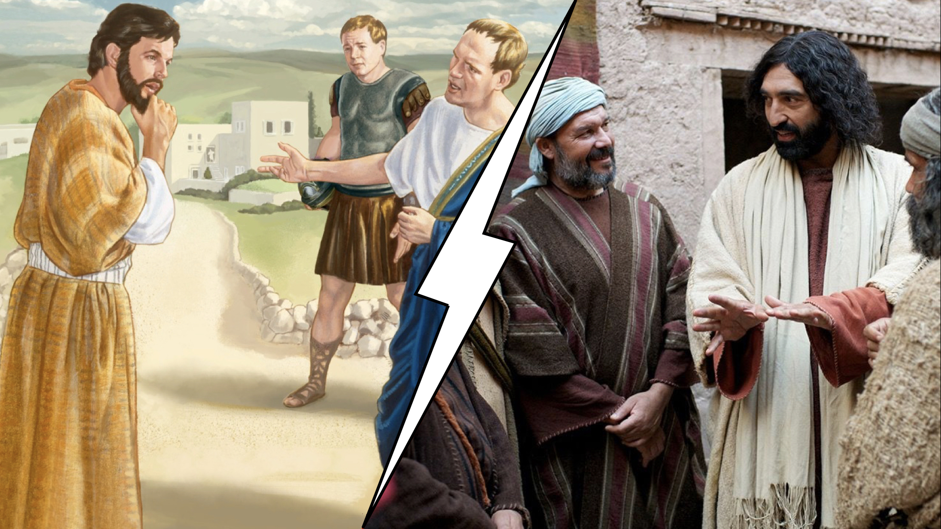 Contrasting images on the ethnicity of Jesus. The sermon for this week explores why our understanding of Jesus as a Jewish man who was poor and part of an oppressed minority matters deeply in how we understand the faith of the Centurion.