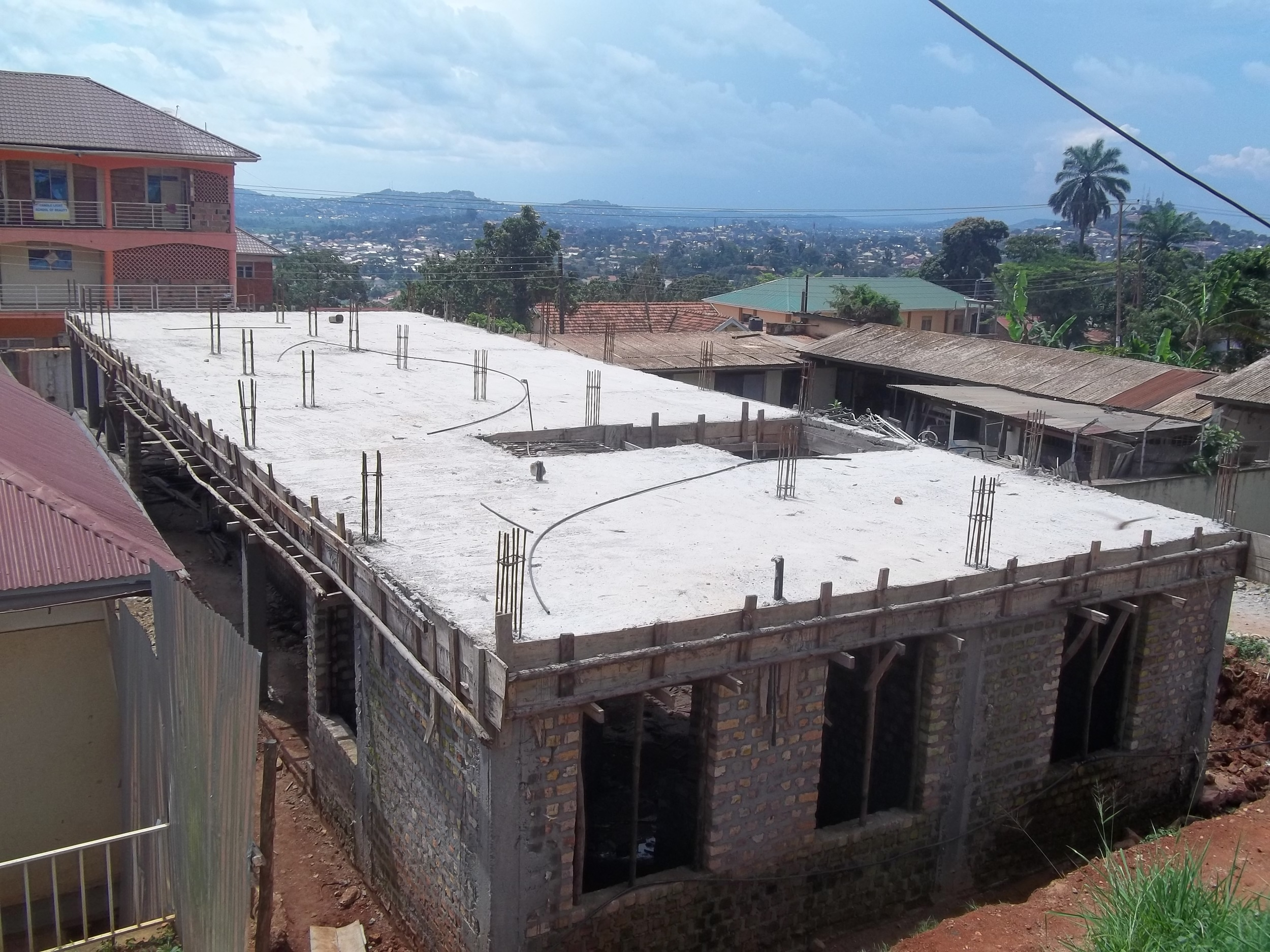 Construction of the TB/HIV clinic