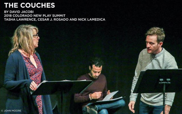 DENVER CENTER FOR THE PERFORMING ARTS NEW PLAY SUMMIT 2018  Caitlin is directing a workshop of David Jacobi's THE COUCHES at the Denver Center's New Play Summit.   More info    HERE