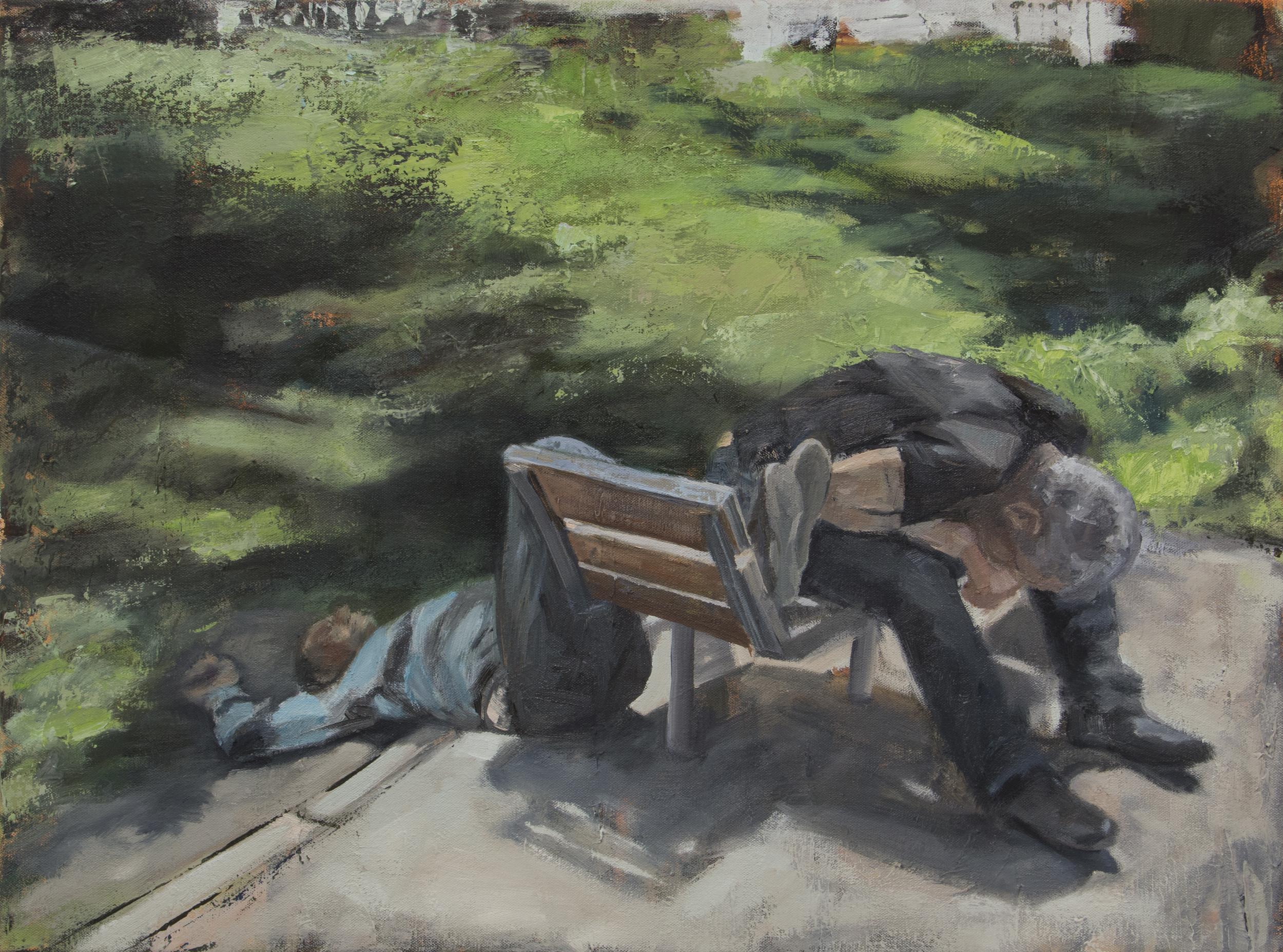 Bench at Noon