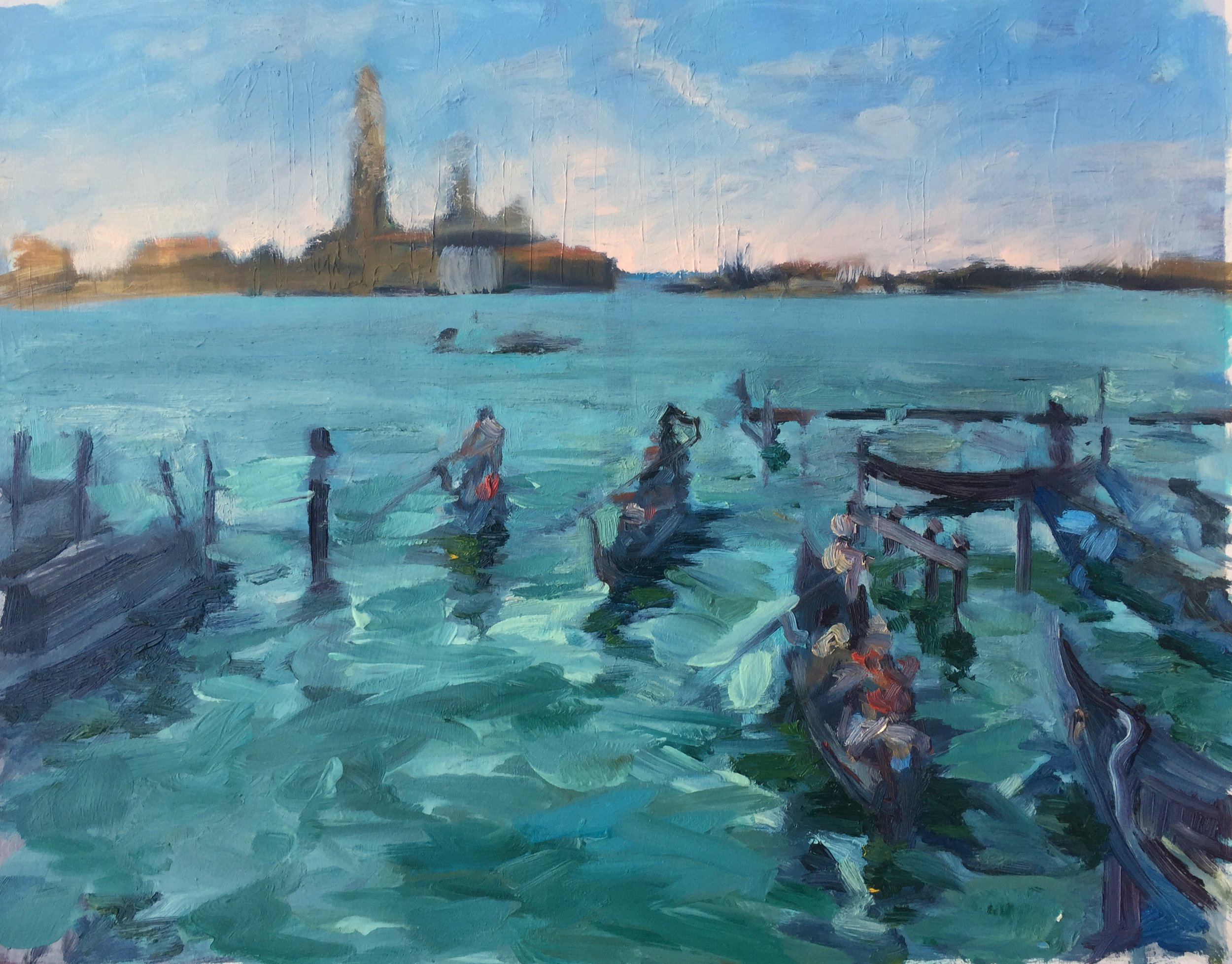 Venice-Lagoon-oil-sketch
