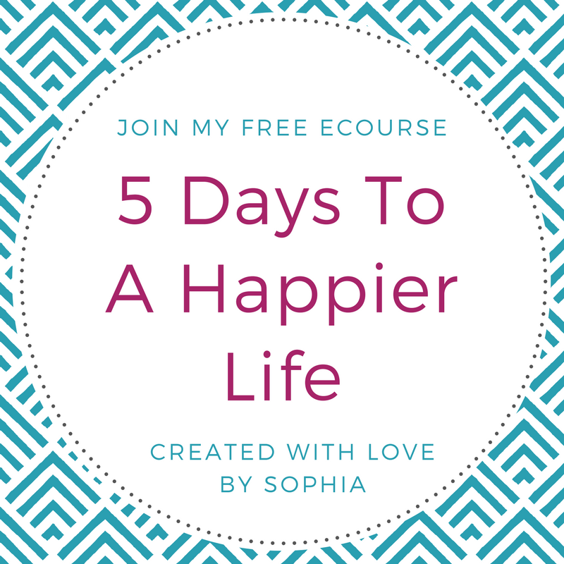 5 Days to A Happier Life Ecourse