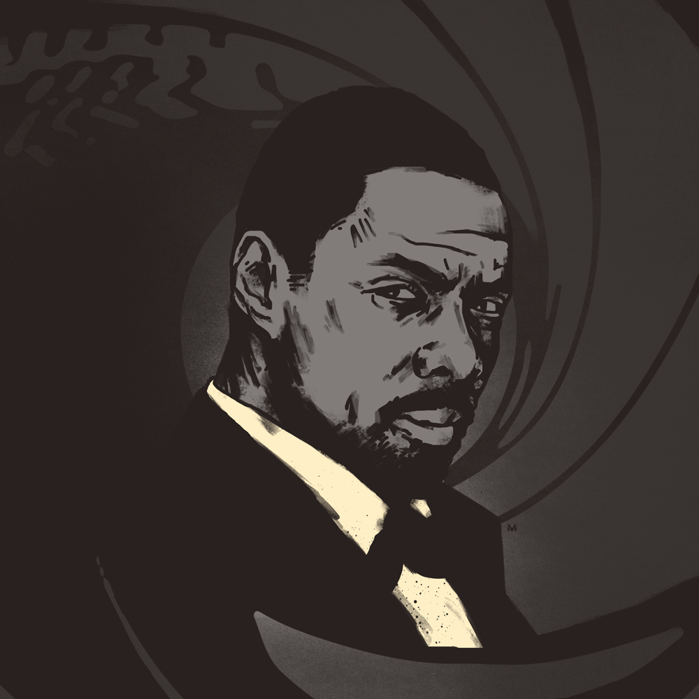 IDRIS BOND   Elba for Bond!