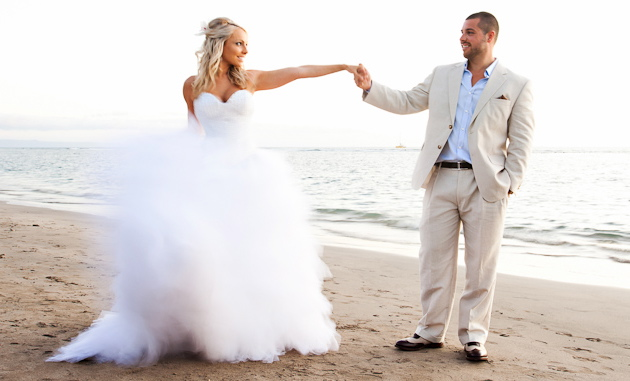 Maui Beach Wedding Packages from Love Maui Weddings