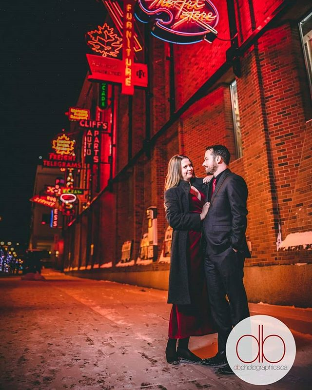 Even in a deep freeze, you still need to get the shot. Jason and Emily's wedding was such an amazing, intimate event and they were troopers braving the conditions.  Congrats you two! Can't wait to share the rest with you. #yegweddings