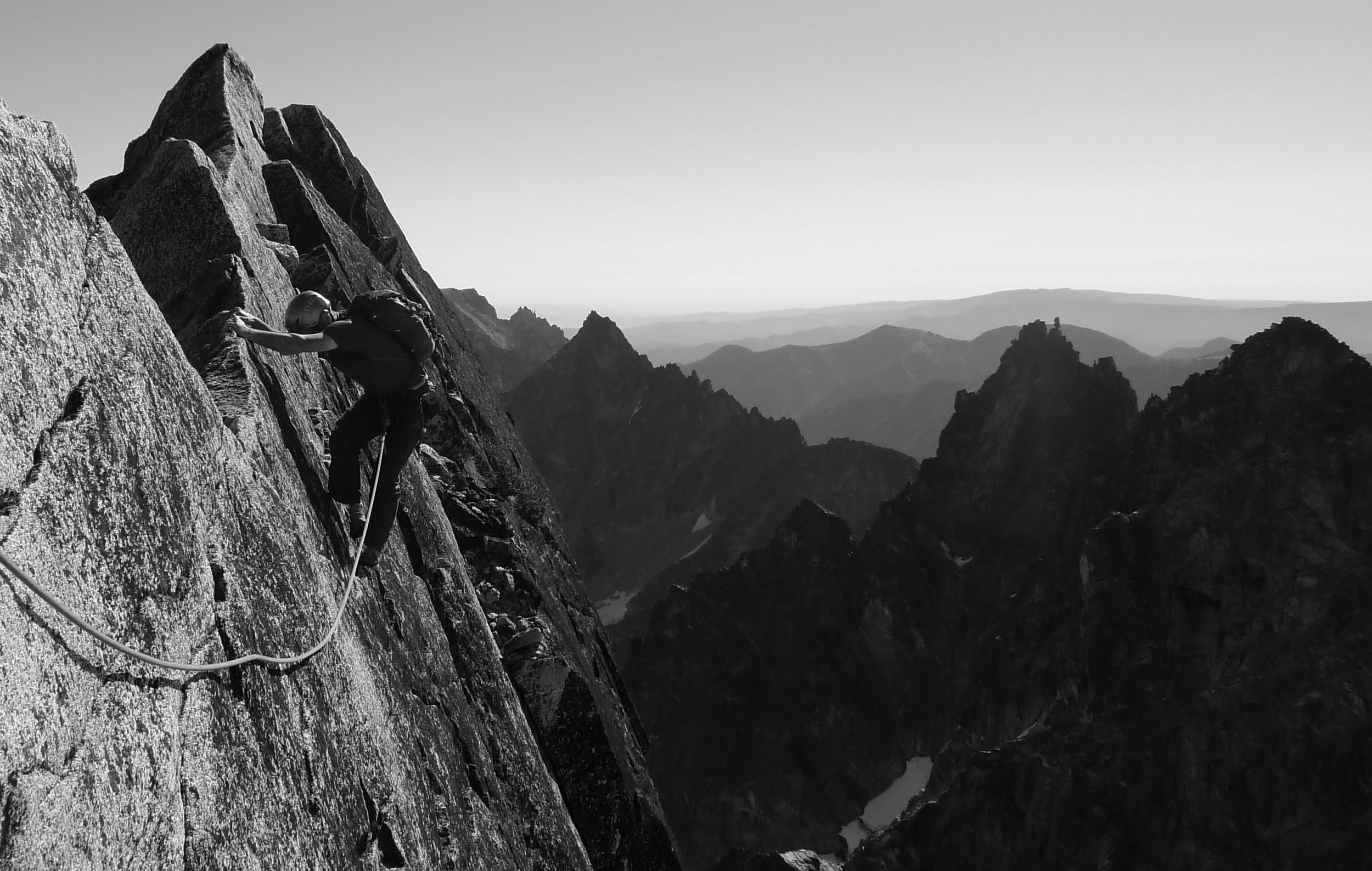 North Ridge of Mt. Stuart