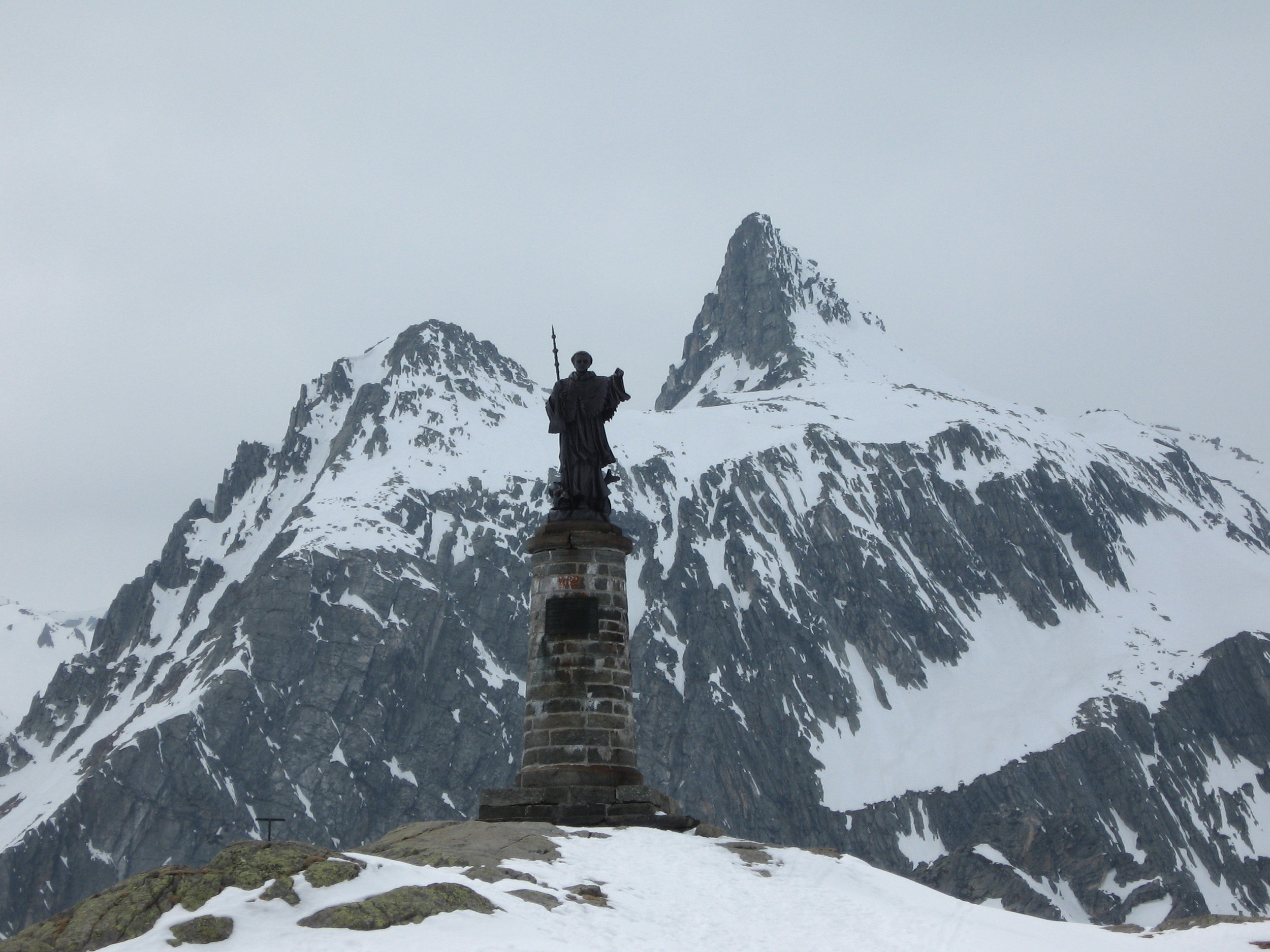 Day 2: St. Bernard welcomes us to his pass