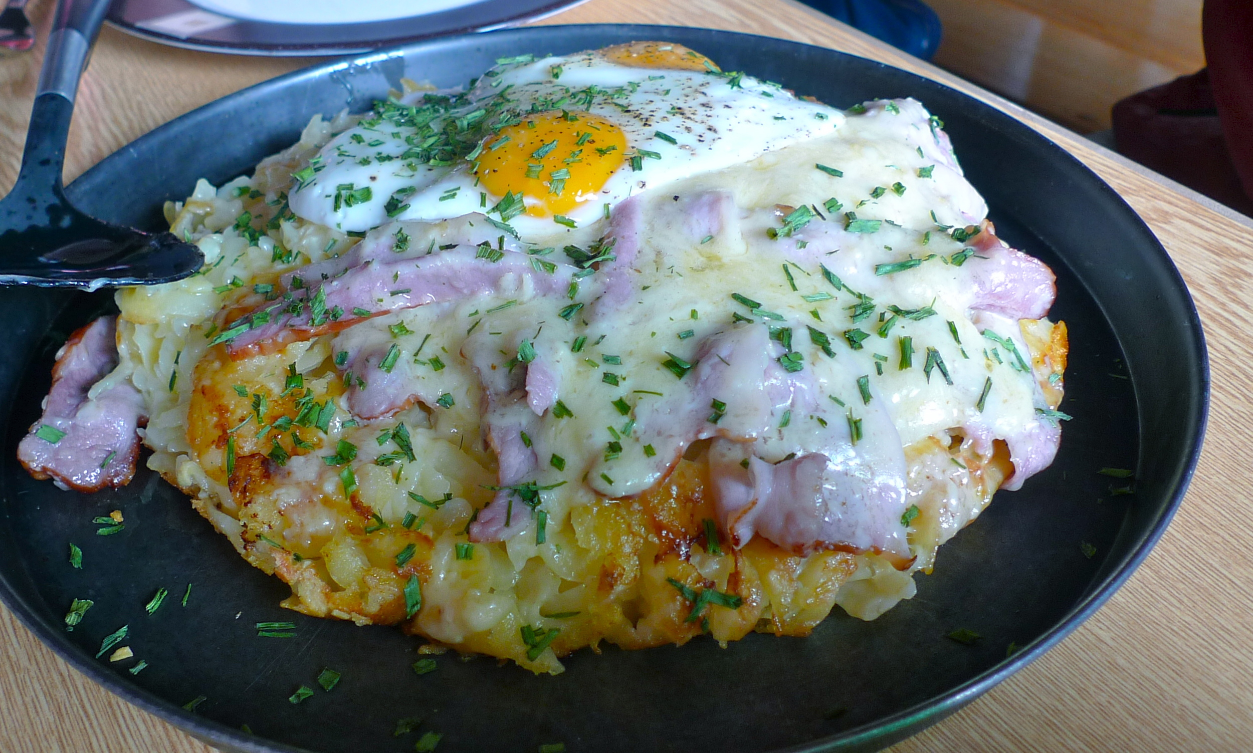 Any day: Rosti!