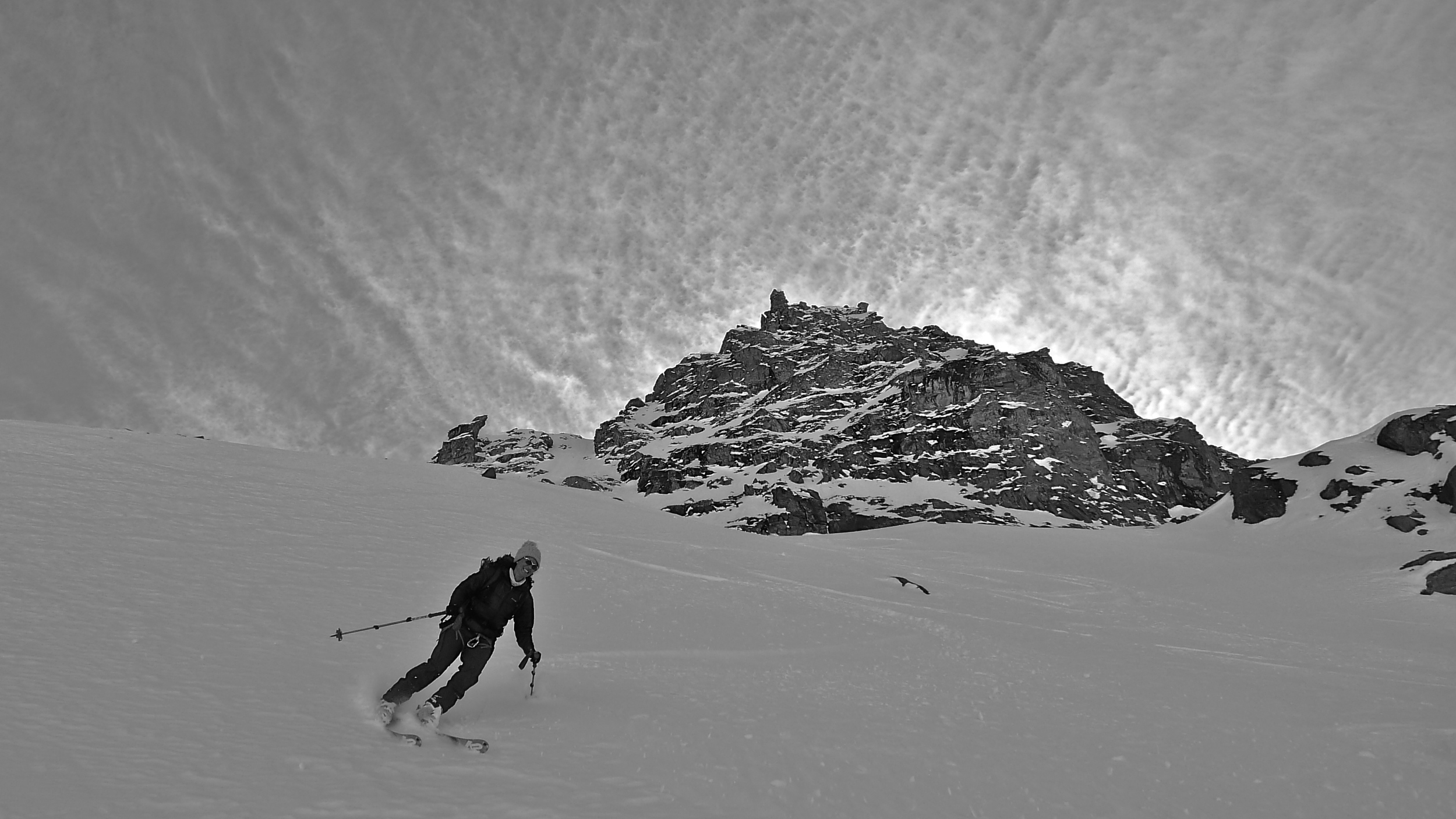 Day 3: Cold snow above Prafleuri