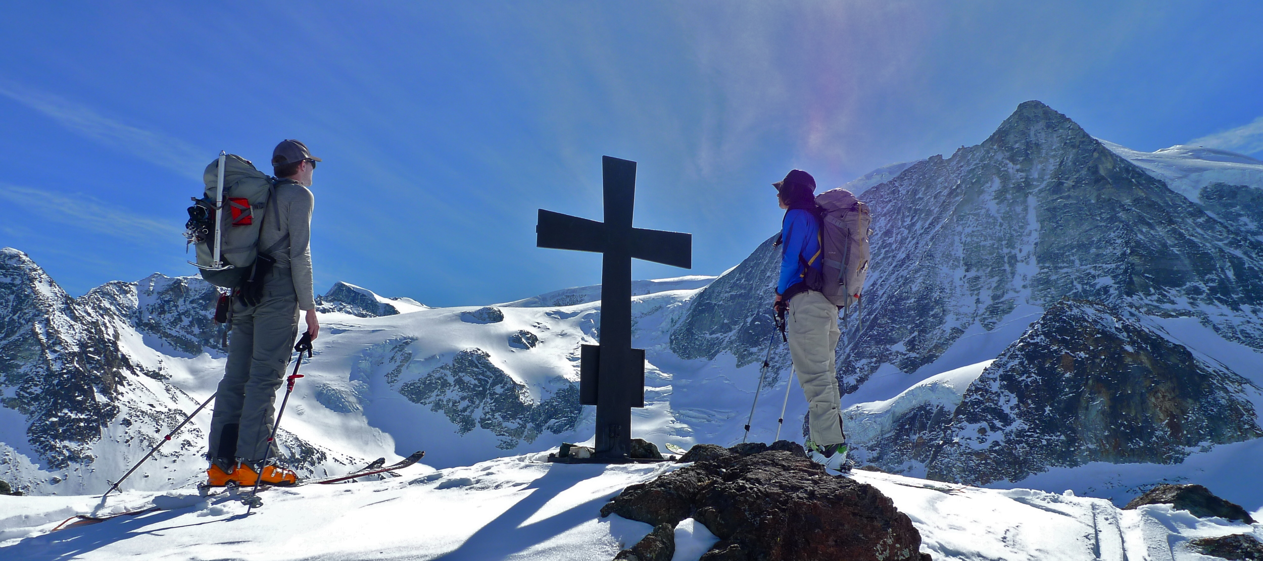 Day 4: Looking up at Mt. Blanc de Cheillon