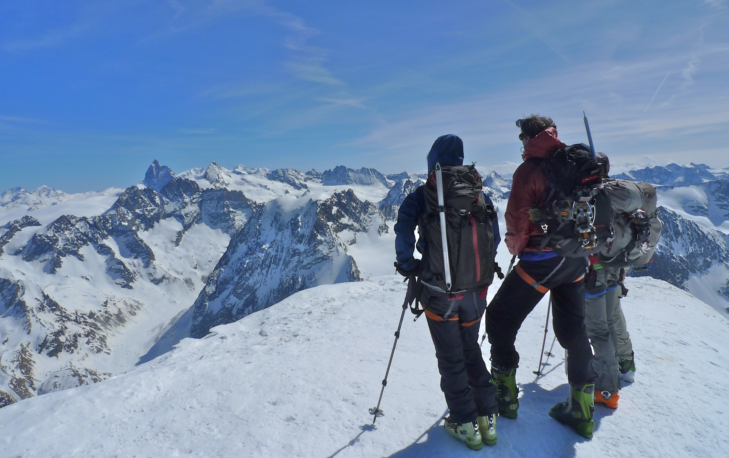 Day 5: On top of the Pigne d'Arolla