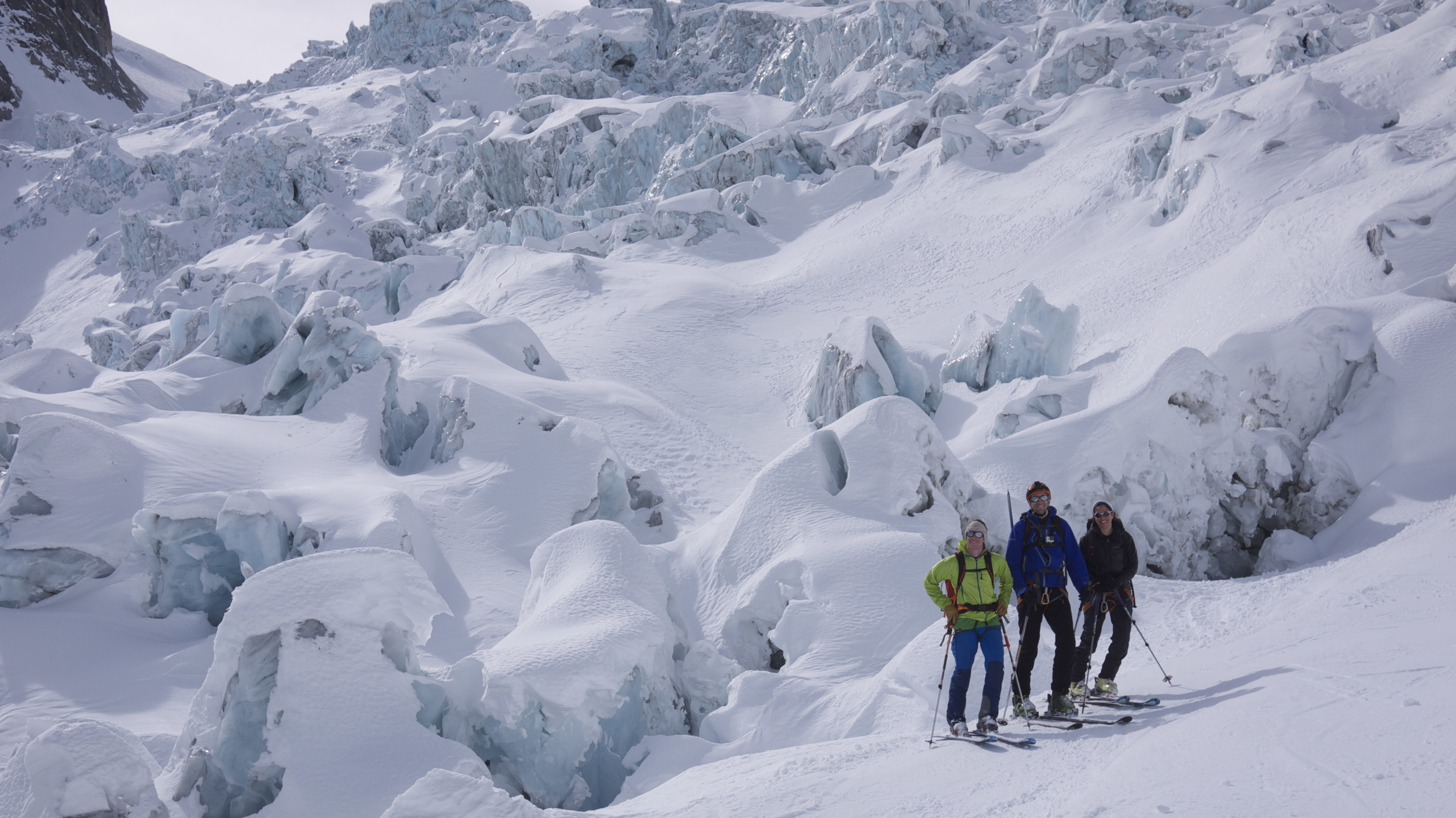 Day 0: What's cooler than being cool? The Vallee Blanche.