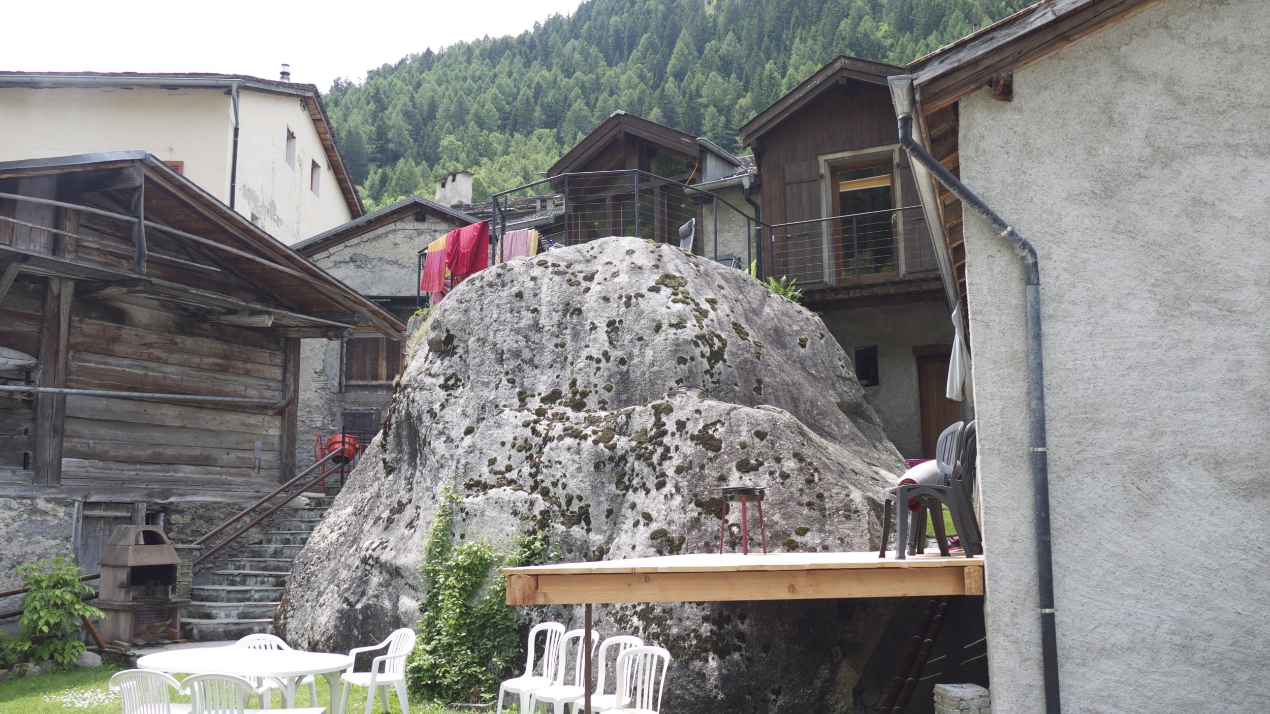 Alpine villages work with the landscape in creative ways.