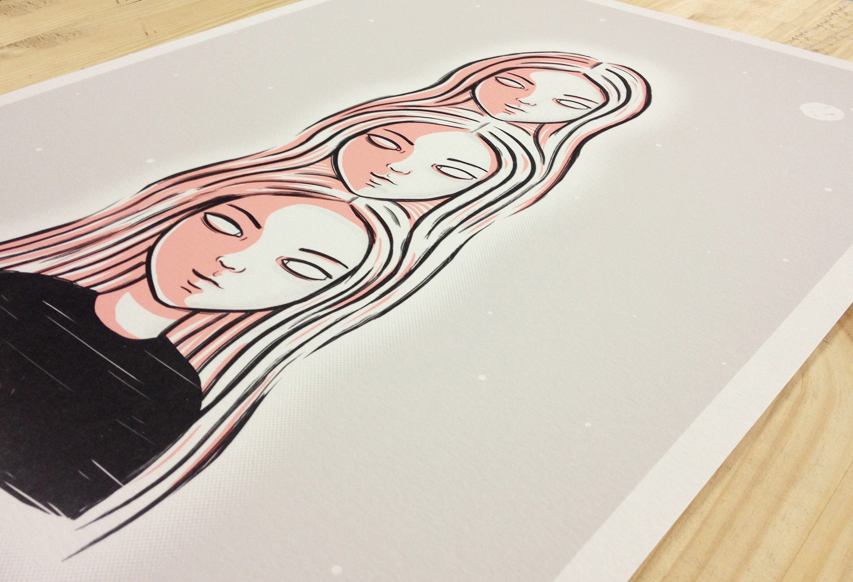 Archival print on Hahnemuhle