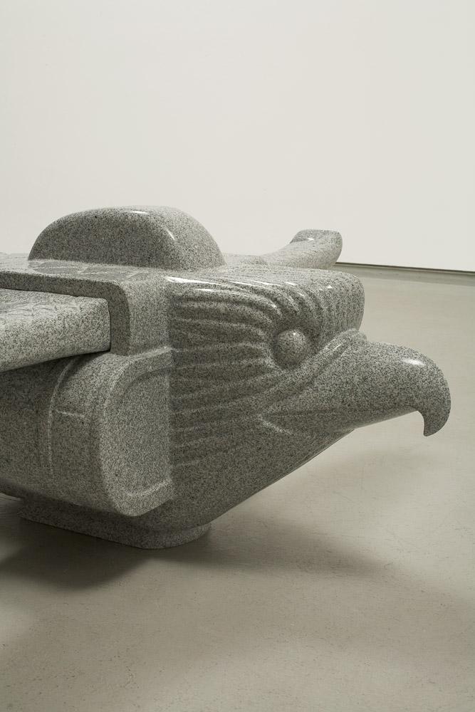 Heavy Bird    2008; Granite; Detail