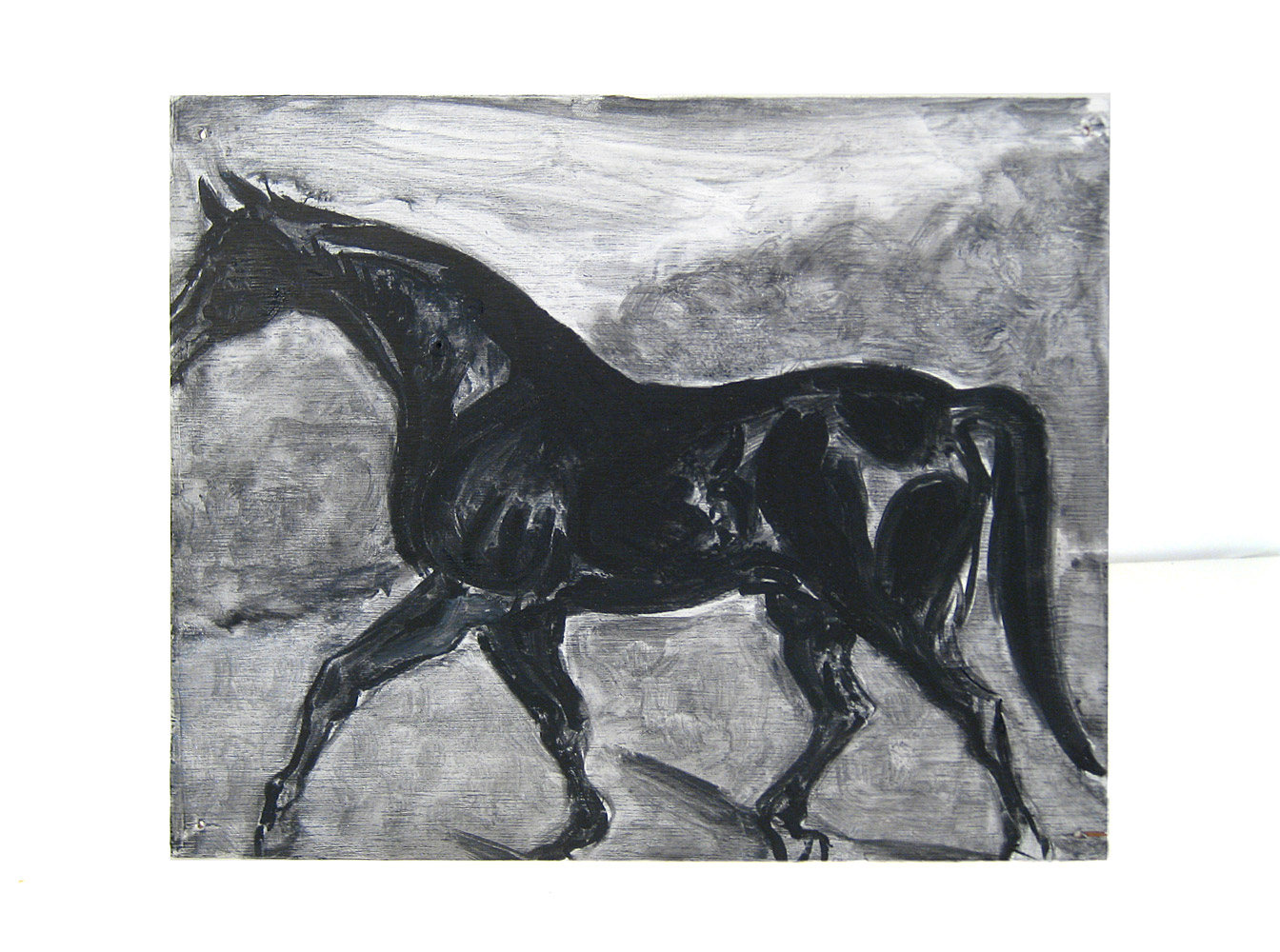 A Horse    Oil on canvas, 2012