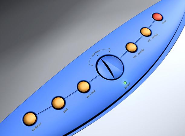 FoodSaver Vac 1200 controls