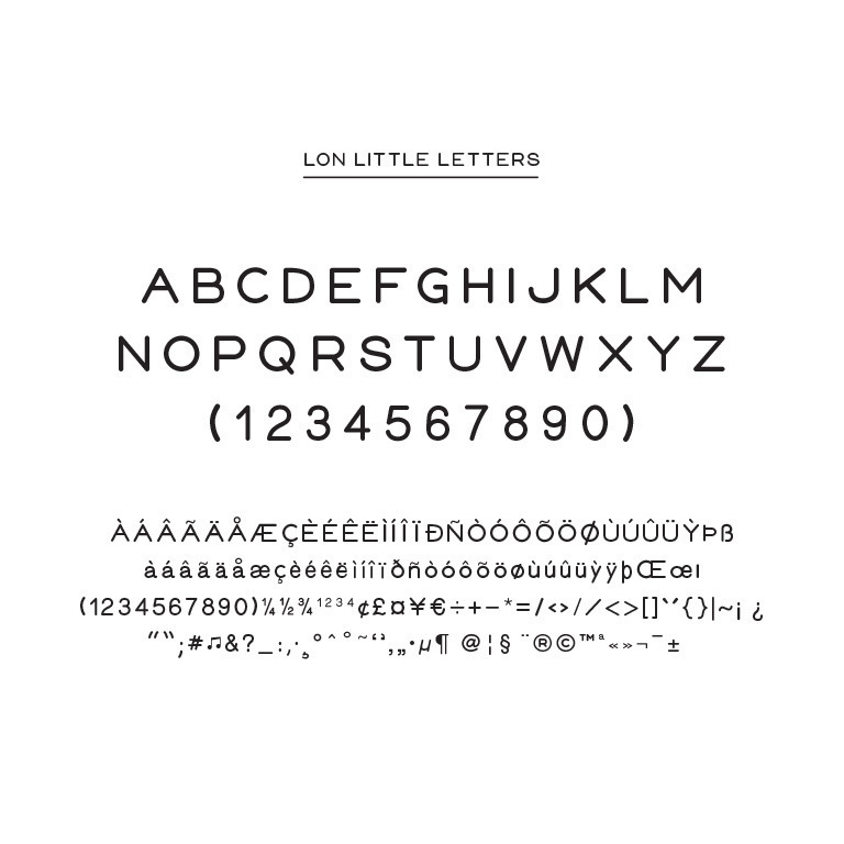 LON-little-letters-typography-font
