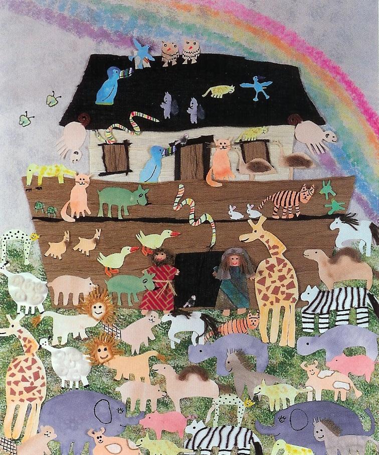 Children's artwork inspired Dr. Archuleta to create Noah's Children
