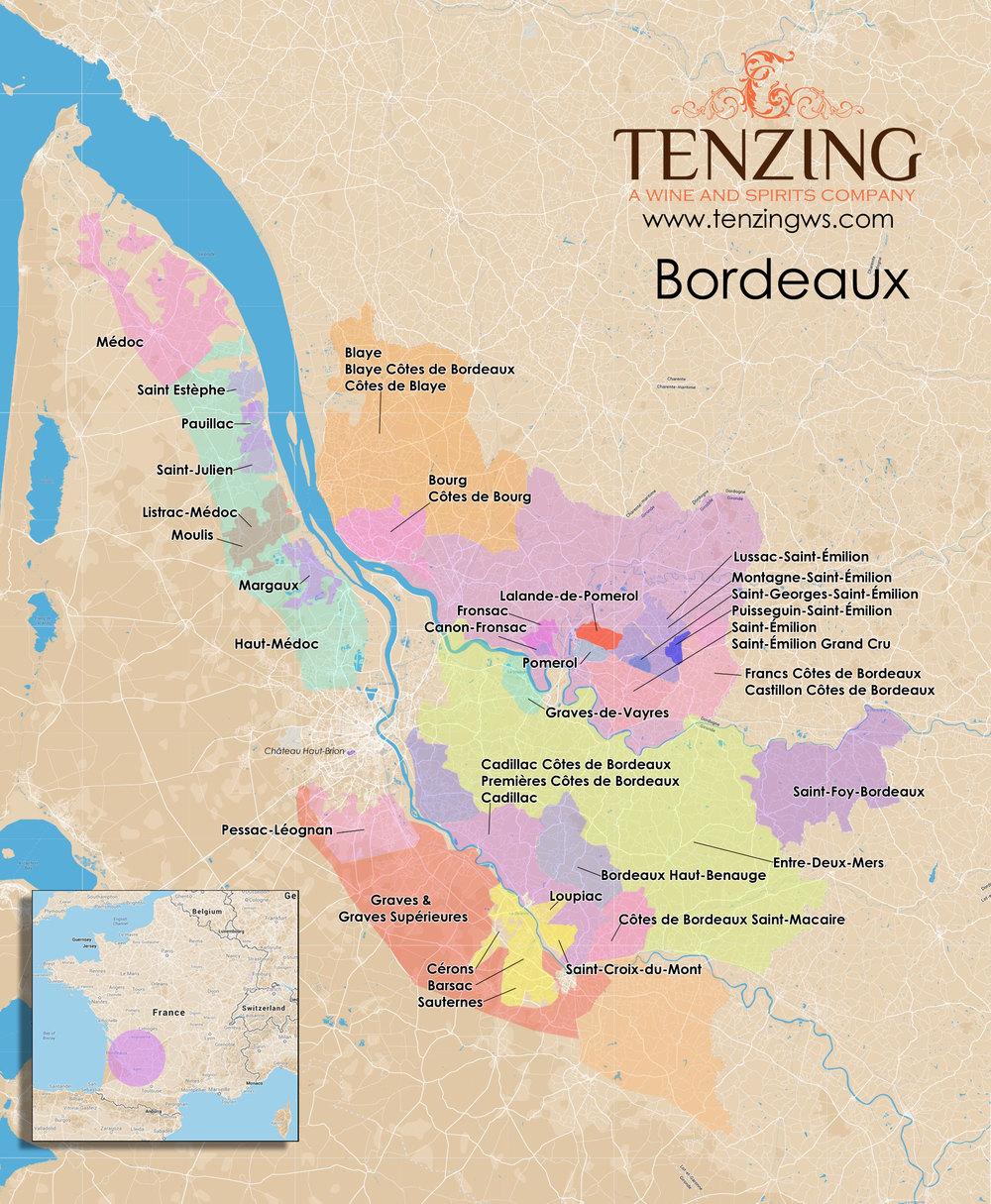 Map Of Bordeaux France Bordeaux 2020 01 30