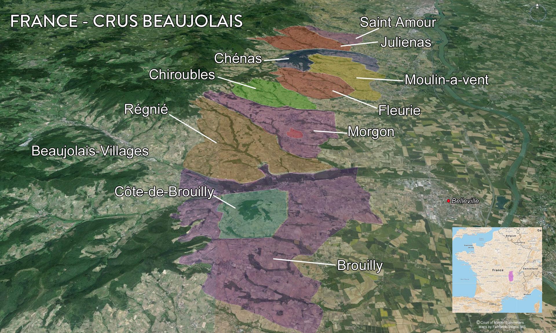 France - Crus Beaujolais