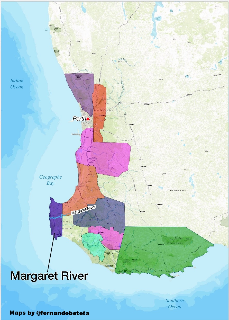 Wine Maps — Fernando Beteta, MS