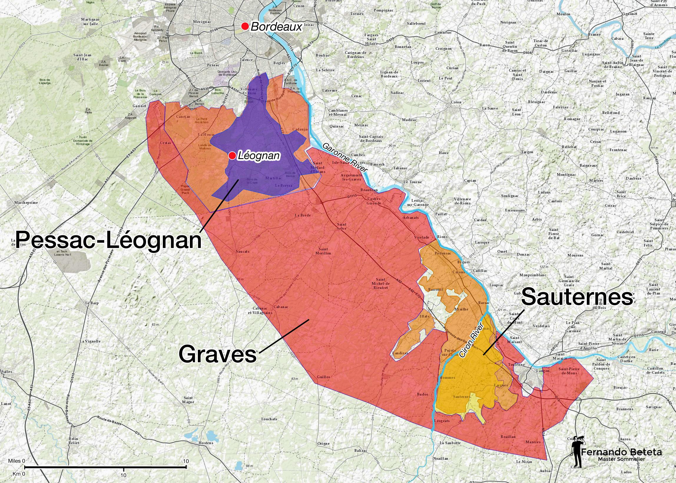 France - Bordeaux Graves
