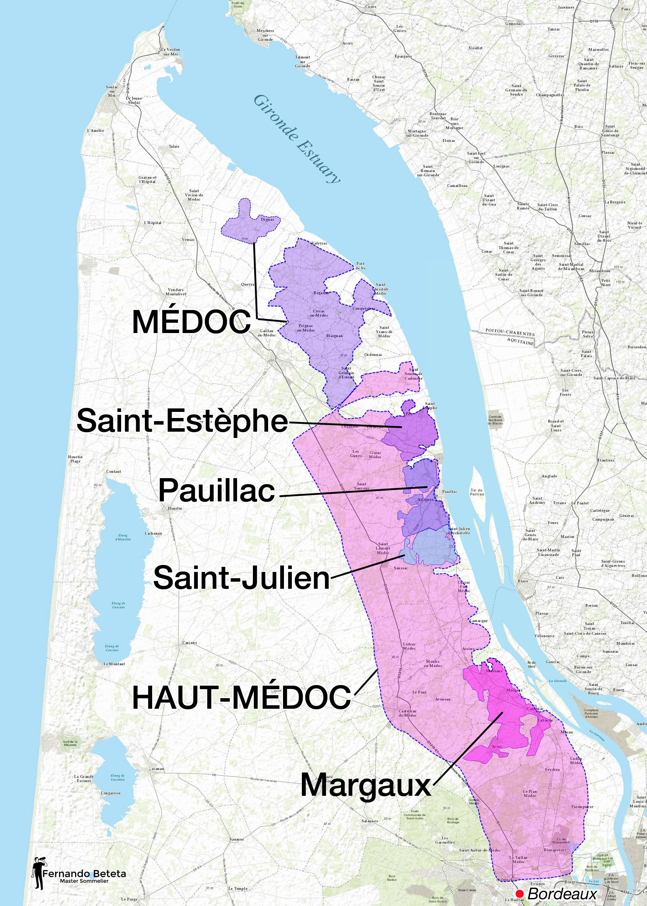 France - Bordeaux Médoc