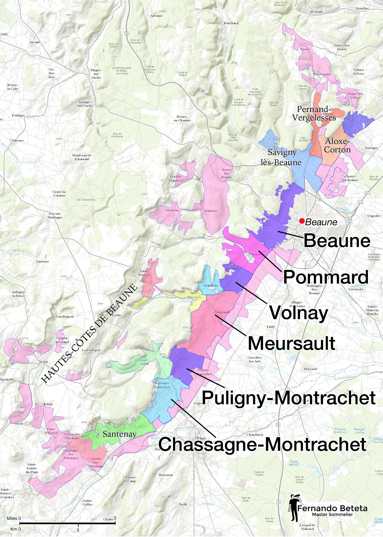 France - Côte de Beaune
