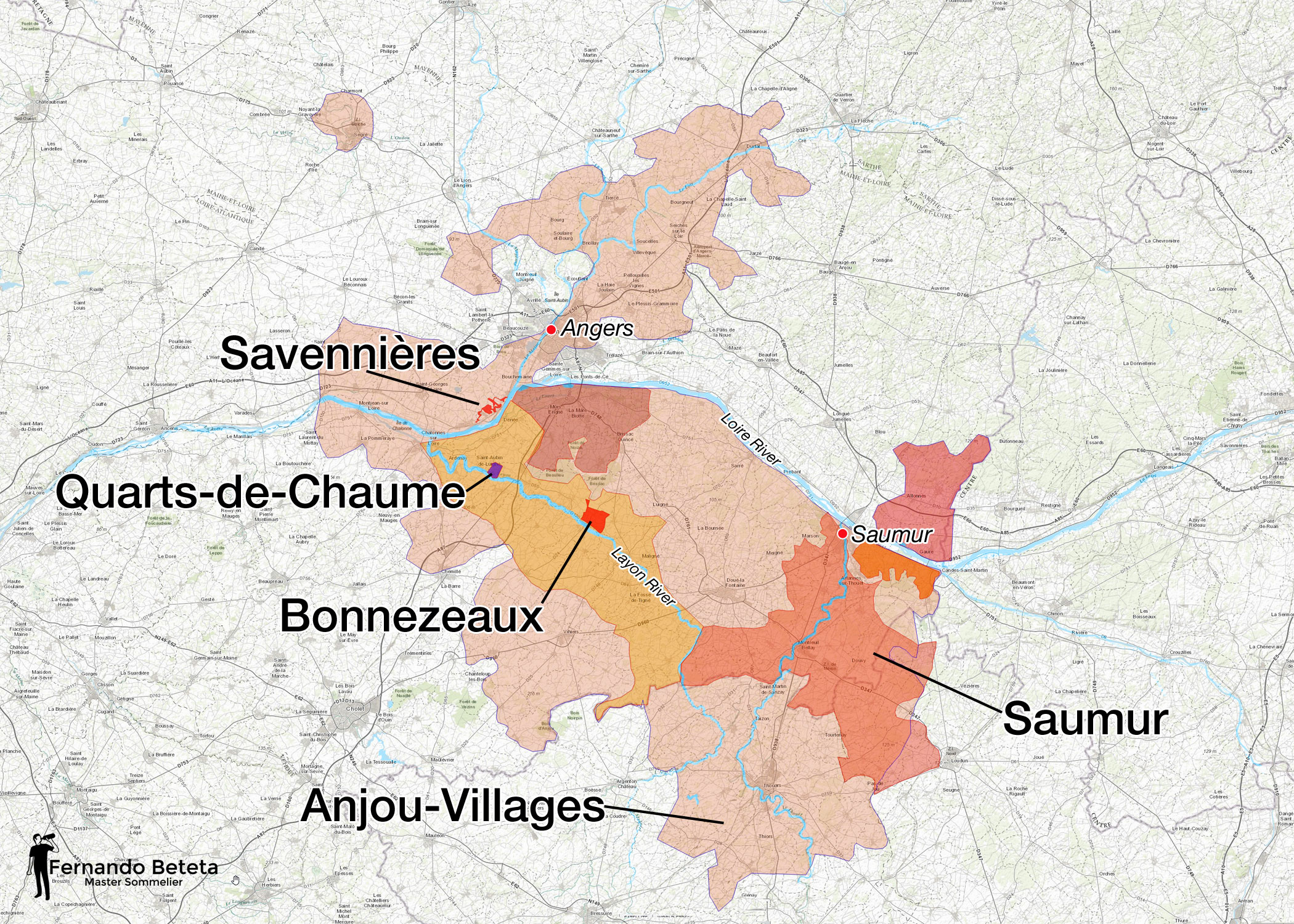 France - Loire Valley - Anjou