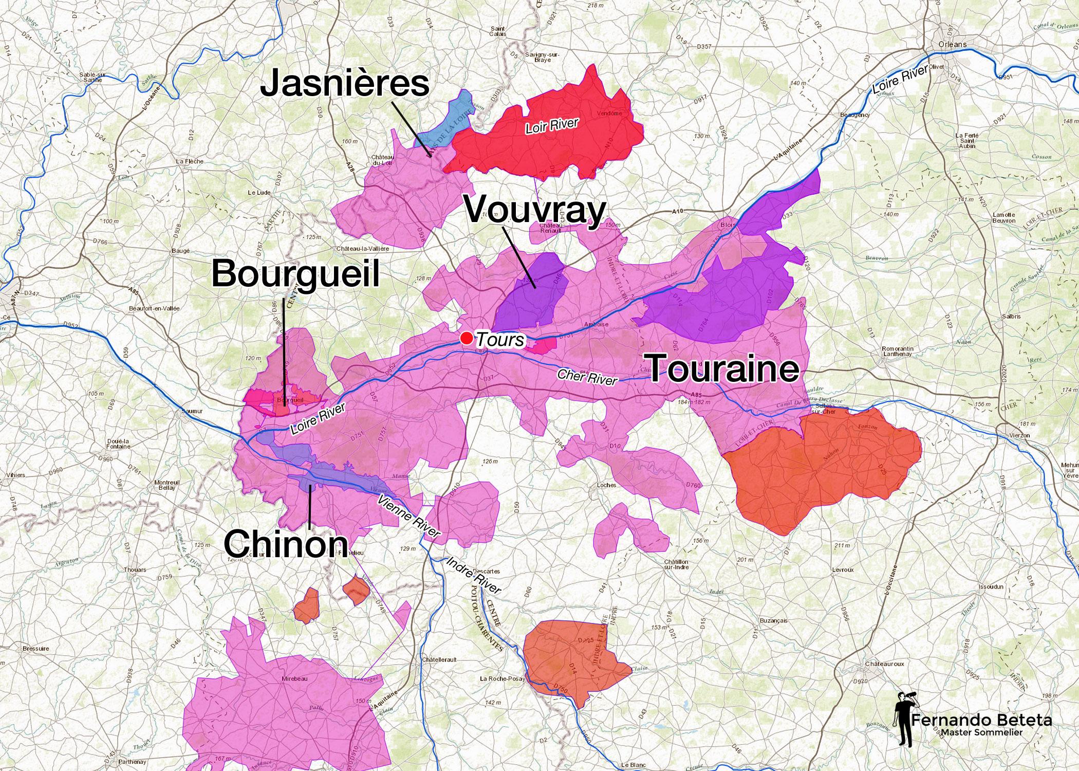 France - Loire Valley - Tourraine