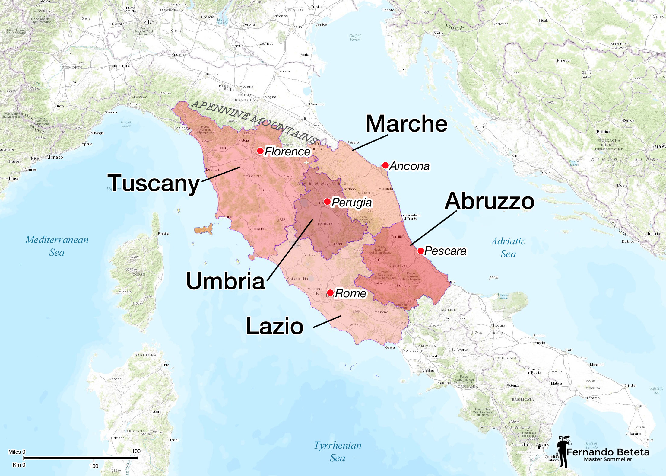 Italy - Central