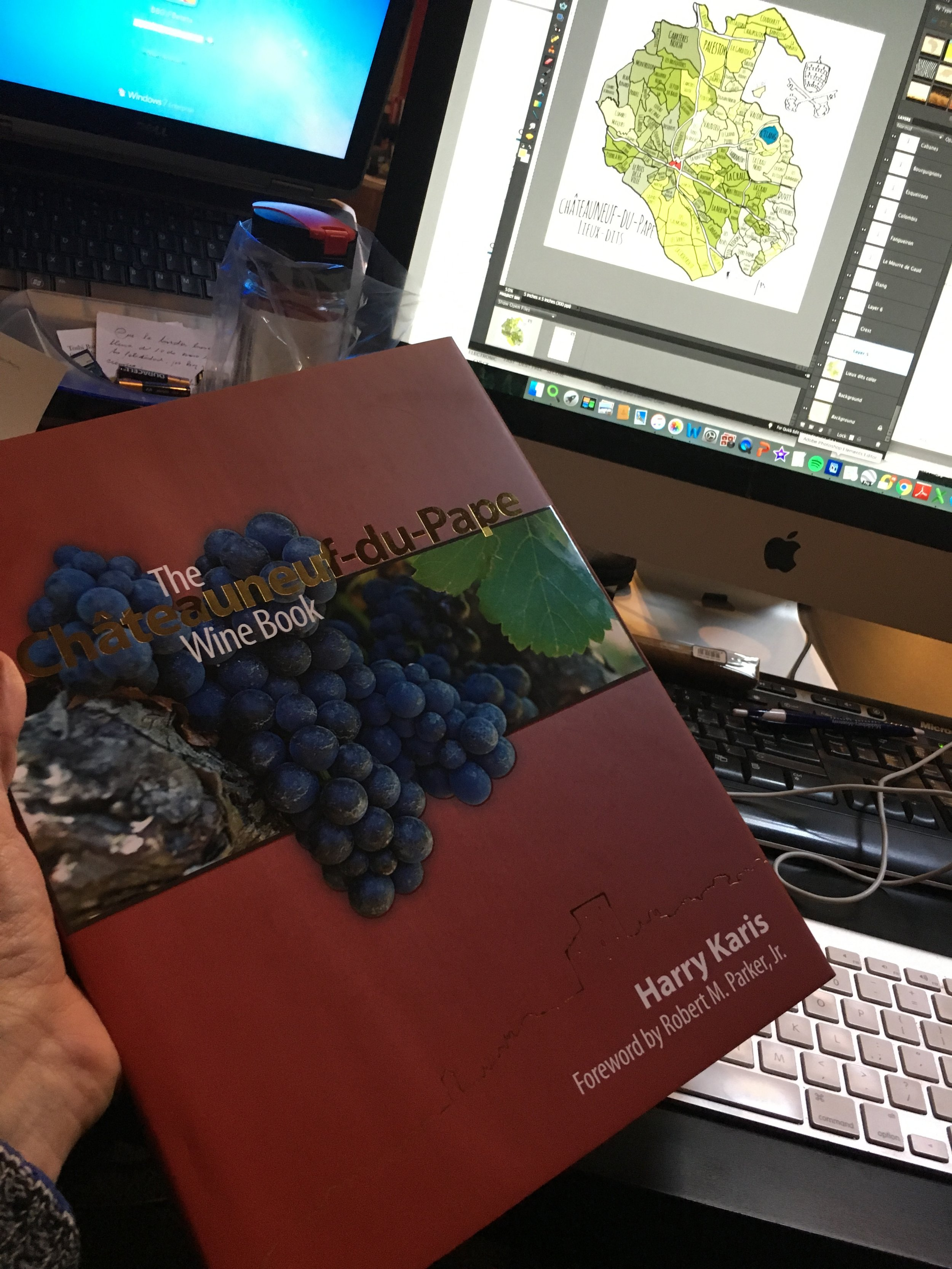 The Châteaneuf-du-Pape Wine book by Harry Karis.