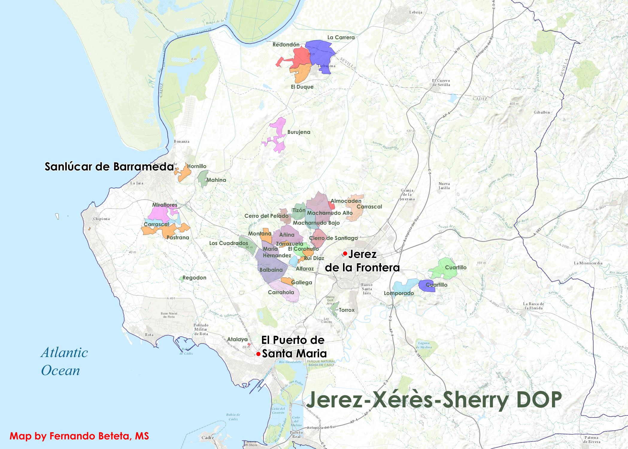 Spain - Xeres-Jerez-Sherry